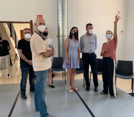 """L'Escorxador acoge los ensayos de """"La Mort i la Donzella"""", una  producción del Instituto Valenciano de Cultura con la ilicitana Asun Noales en la dirección"""