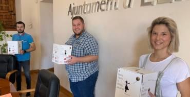 """El Ayuntamiento se suma a la campaña """"La última peseta"""" que recauda fondos para hacer frente a la pandemia del coronavirus"""
