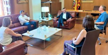 El alcalde y el director general de FP abordan el refuerzo de la Formación Profesional en Elche