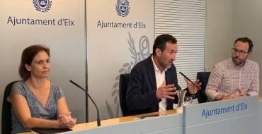 El Ayuntamiento consensuará con los agentes sociales un plan para mejorar las infraestructuras viarias y ferroviarias de Elche