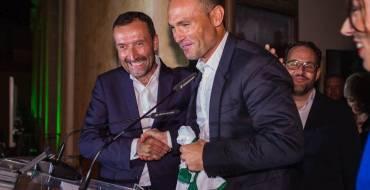 El alcalde traslada al Elche CF su apoyo y el de toda la ciudad ante el inicio del 'play-off' de ascenso a Primera