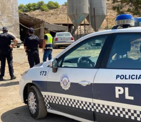 La Policía Local descubre en Saladas una granja con un matadero clandestino de animales para la fiesta del cordero