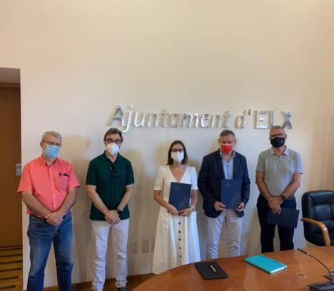 El Ayuntamiento de Elche y la UMH renuevan un año más el convenio del estudio de calidad del aire en la ciudad para combatir la contaminación atmosférica