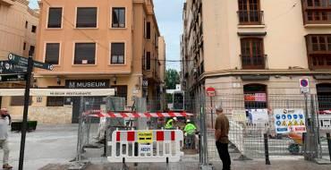 Cortes de tráfico en las calles Virgen de la Cabeza, Fatxo y Sant Miquel por las obras de plataforma única