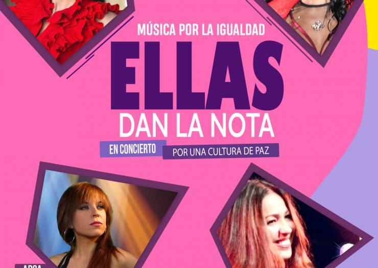 """Ellas Dan La Nota """"Música Per La Igualtat"""""""