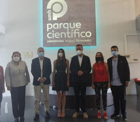 """Carlos González: """"el Parque Científico es una fábrica de actividades que contribuye tanto a la innovación como a la diversificación económica de Elche"""""""