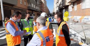 El nuevo colector de aguas pluviales de Altabix evitará las inundaciones en el barrio
