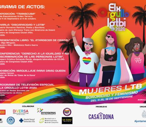Una gran manifestación virtual cerrará la semana del Orgullo LGTBI en Elche