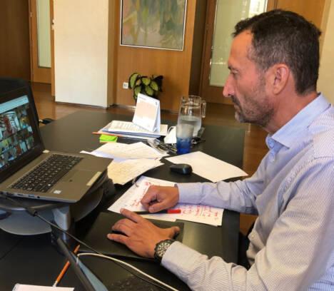 El alcalde convoca la Junta de Portavoces para abordar la situación sanitaria de la ciudad y la incidencia de la pandemia