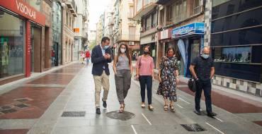 La consellera de Transició Ecològica elogia la contribució de la conversió en zona de vianants de la Corredora en la lluita contra el canvi climàtic
