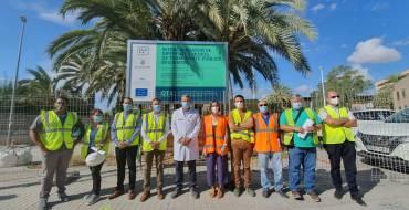 Les obres del bescanviador d'autobusos de l'Hospital General d'Elx finalitzaran a mitjan novembre