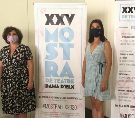 La concejalía de Cultura presenta la XXV Mostra de Teatre Dama d'Elx