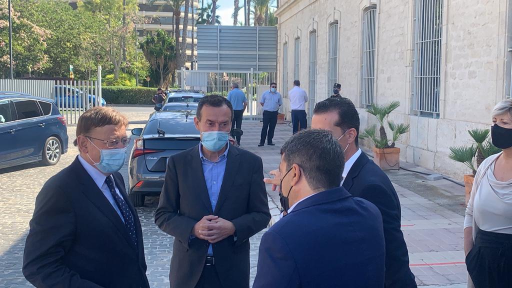 """Carlos González considera que las 400 medidas del acuerdo """"Alcem-nos"""" permitirán dar respuestas a la crisis generada por la pandemia"""
