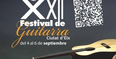 El Festival de Guitarra 'Ciutat d'Elx' arranca con aforo completo en su XXII edición