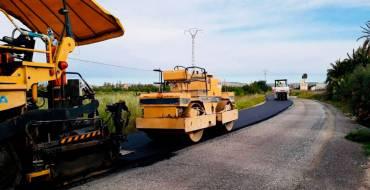 El Ayuntamiento realiza la mayor inversión de las últimas legislaturas en la mejora del asfaltado de calles en barrios y pedanías