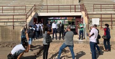 """El Ayuntamiento cede al Elche CF el """"José Díez Iborra"""" para sus entrenamientos y a cambio el club lleva a cabo la reforma del mismo"""