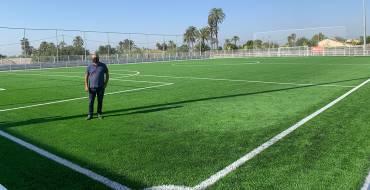 La Junta de Govern adjudica la renovació de la gespa artificial del camp de futbol del poliesportiu de Carrús
