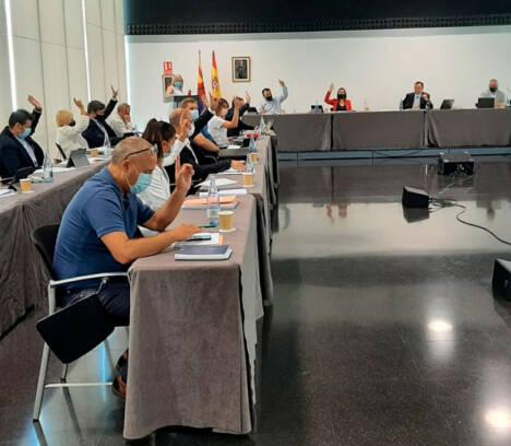 Los grupos políticos del Ayuntamiento rechazan por unanimidad el anteproyecto de Ley de Aguas de Castilla-La Mancha que prevé recortar el Trasvase