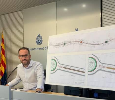 El Ayuntamiento invierte cerca de 500.000 euros en la adecuación y ajardinamiento de la Ronda Norte