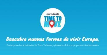 Elche se suma a la campaña de información de programas juveniles de la UE 'Time to Move'