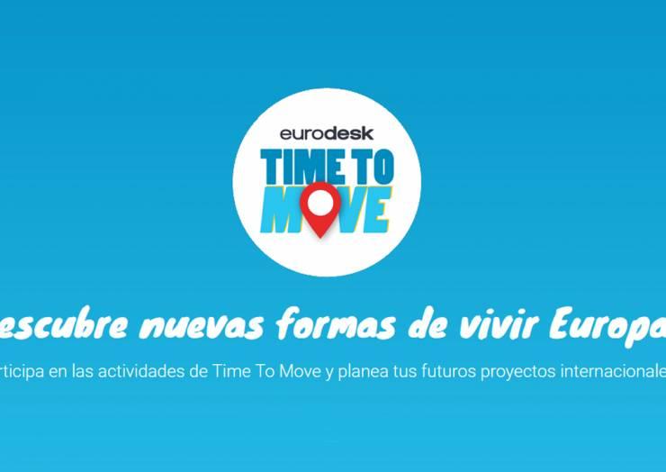 """Elx se suma a la campanya d'informació de programes juvenils de la UE """"Time to Move"""""""