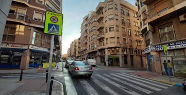 La concejalía de Movilidad realizará mejoras de seguridad vial en las calles Ángel y Lepanto