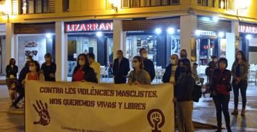 L'Equip de Govern dona suport a una nova concentració contra la violència masclista