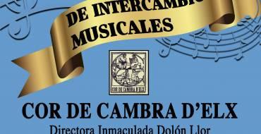 El Cor de Cambra d'Elx se celebrará este jueves a las 18:00 horas en el Templete de Música del Parque de la Rotonda