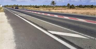 El desdoblament de la carretera de Santa Pola millorarà la seguretat per a ciclistes i vianants i crearà parades d'autobús en tot el tram