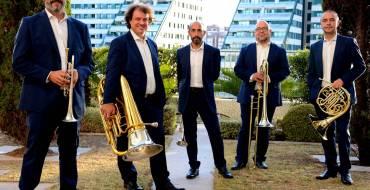 El grup Spanish Brass, Premi Nacional de Música, actua el 16 d'octubre a la nit a Elx