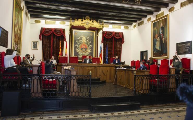 Rechazada en pleno la reprobación contra el alcalde propuesta por el PP