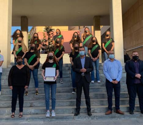 El alcalde felicita a las chicas del Club Waterpolo Elx por su ascenso a Primera Nacional