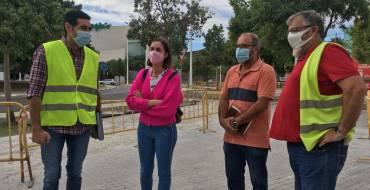 Les obres del nou carril bici de l'avinguda Ramon Pastor compleixen els terminis establits per a estar operatiu al desembre