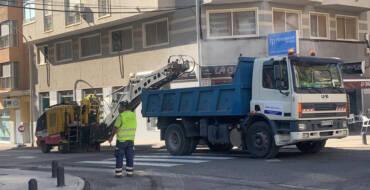 Les obres d'asfaltat de l'avinguda Dama d'Elx milloren una de les zones més transitades de l'Altet