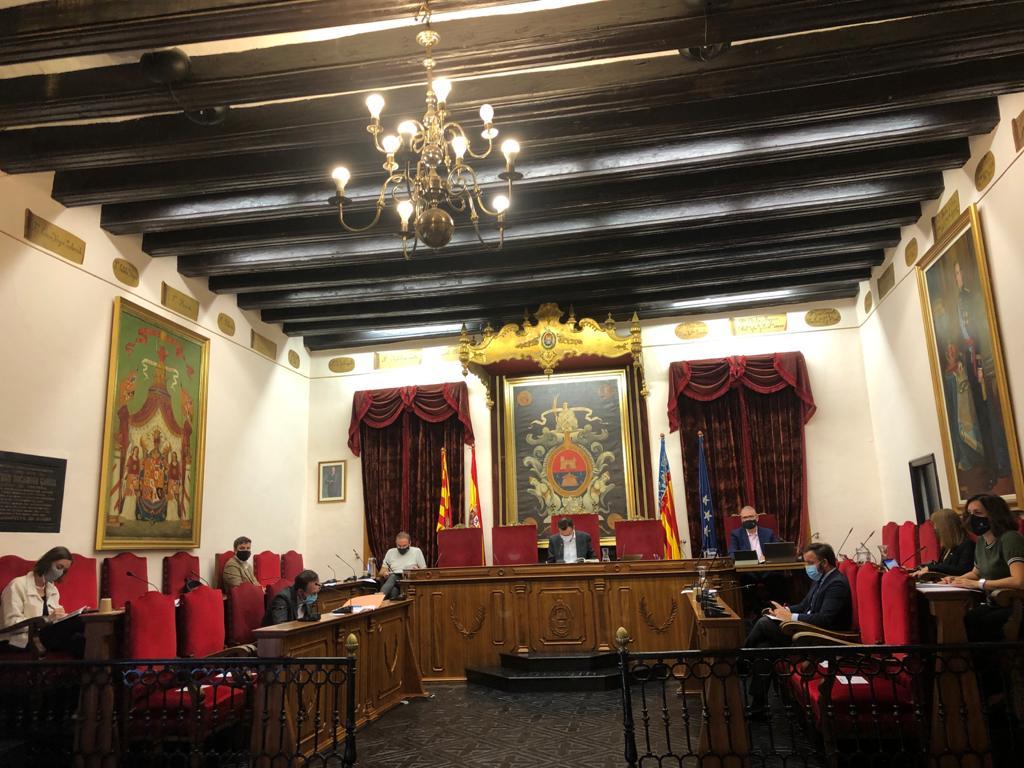 El Ayuntamiento congela la subida salarial a la Corporación y a los asesores municipales