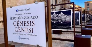 """La Plaza del Congreso Eucarístico acoge la exposición """"Génesis"""" de Sebastiao Salgado para mostrar la auténtica naturaleza a pie de calle"""