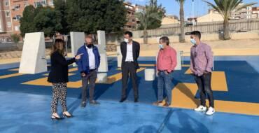 El Ayuntamiento lleva a cabo la remodelación del Polideportivo Isabel Fernández de Torrellano