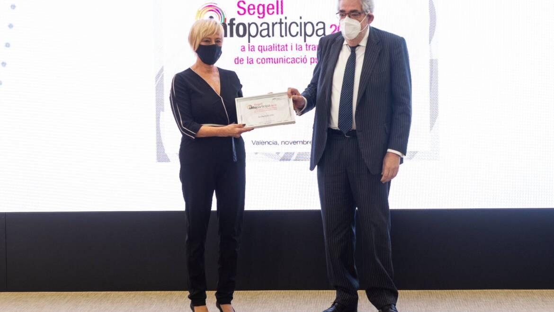El Ayuntamiento de Elche recibe el sello Infoparticipa 2019 por su nivel de transparencia