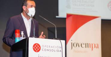 González reivindica ante los jóvenes empresarios el camino de la sostenibilidad en la recuperación económica frente a la pandemia
