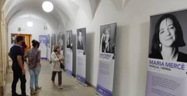 La Semana de las Escritoras da comienzo con la inauguración de una exposición en la Biblioteca Pedro Ibarra