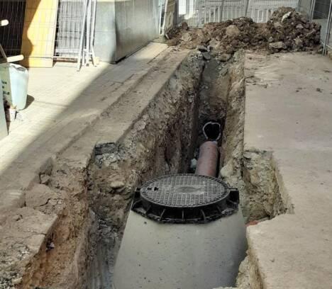 Patrimonio autoriza la continuidad de las obras en la calle Fossar