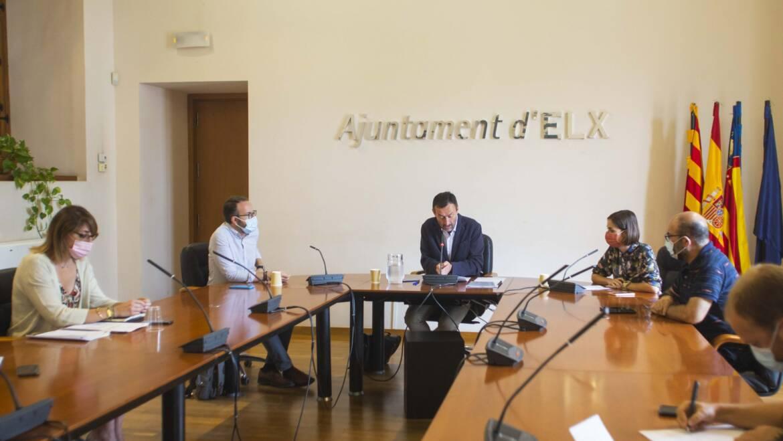 L'equip de Govern informa els portaveus municipals sobre el procés d'adjudicació de la nova contracta de neteja