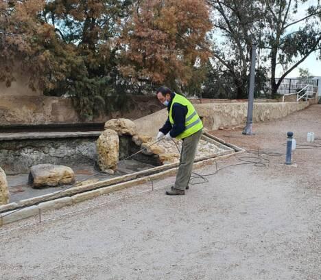 Comienzan los trabajos para la estabilización de la ladera del río donde se ubica el Molí Real
