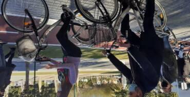 El nou carril bici de l'av. Ramón Pastor completa el circuit ciclista perimetral d'Elx