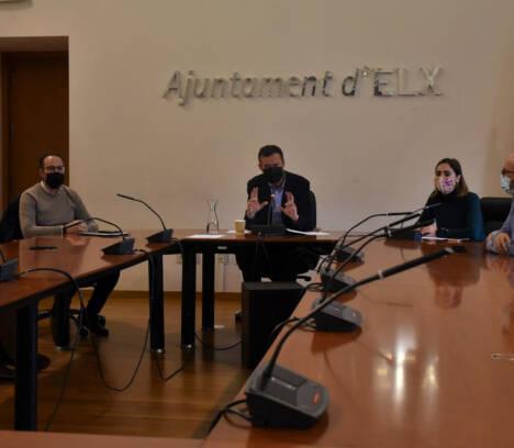 El equipo de gobierno municipal centrará este año su gestión en la lucha contra la pandemia y en la recuperación socioeconómica de Elche