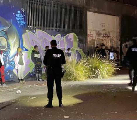 La Policía Local impone 221 denuncias en este fin de semana por infracciones a las medidas sanitarias