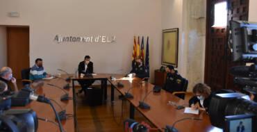 El Ayuntamiento y la Subdelegación del Gobierno acuerdan incrementar la presencia de agentes de las Fuerzas de Seguridad del Estado en el Camp d'Elx