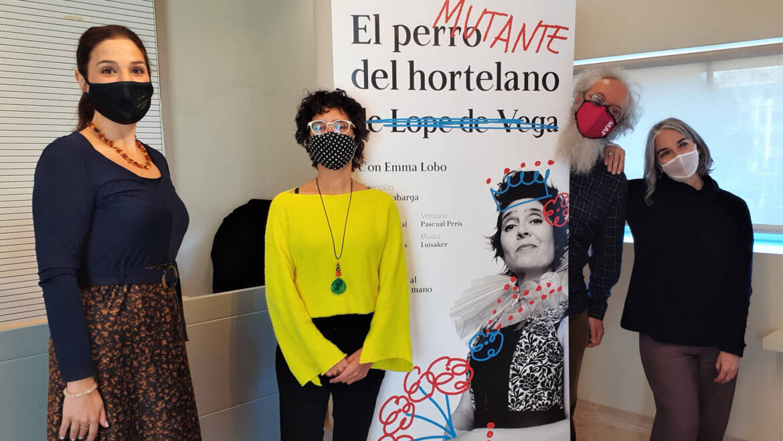 """Una versió moderna d'""""El perro del hortelano"""" de Lope de Vega despertarà l'humor al Gran Teatre"""