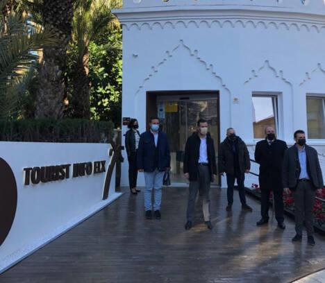"""González: """"Hemos hecho una oficina de turismo del siglo XXI pensando en la recuperación del sector tras la pandemia"""""""