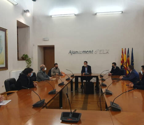 El Ayuntamiento de Elche y empresarios trabajan en común para modernizar y potenciar el Polígono de Carrús como una gran área de servicios